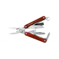 couteau pince leatherman SQUIRT PS4 9 outils rouge LMSQUIRTPS4R