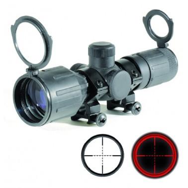 lunette compacte 3-9x40 revetement caoutchouté 263896