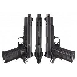 pistolet rudis II acta non verba noir 1911 co2 secutor