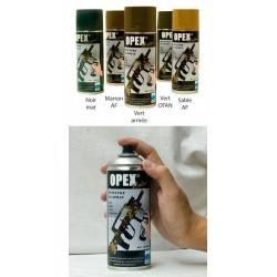 bombe peinture opexcolor noir mat 400ml