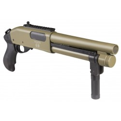 fusil a pompe secutor velites g-II tan 3-6 bb's gaz