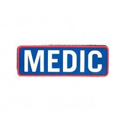 Patch medic blanc et bleu 150x50mm