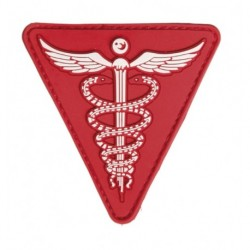 patch pvc medic rouge triangle