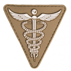 patch pvc medic tan triangle