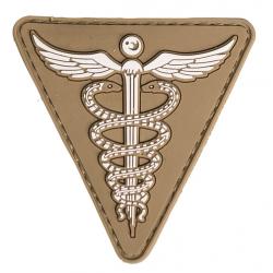patch pvc medic tan triangle