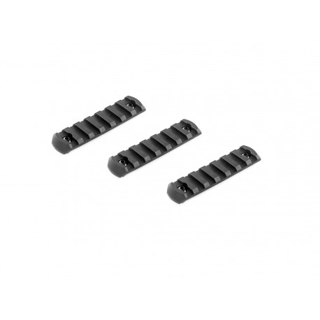 lot 3 rails M-lok long ASG pour scorpion Evo 19088