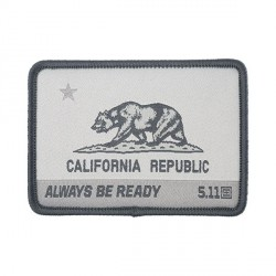 patch 5.11 california state bear V. gris