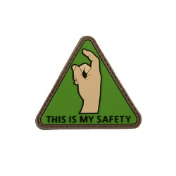 patch pvc this is my safety