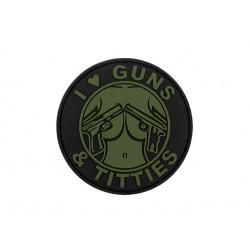 patch pvc guns and titties od