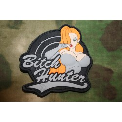 patch pvc bitch hunter gris