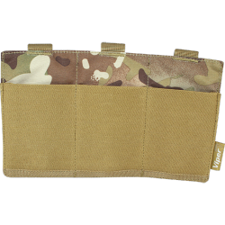 poches molle 3 emplacements low profile multicam VIPER vtmagplvcam