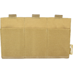 poches molle 3 emplacements low profile coyote VIPER vtmagplc
