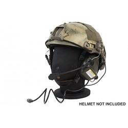 casque pour helmet earmor ear-muff FG foliage green + micro