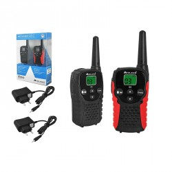 pack 2 talkies walkies radio midland g5c + 2 chargeurs