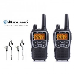 pack 2 talkies walkies radio midland XT70