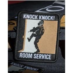 patch secutor knock knock room service 63x76mm