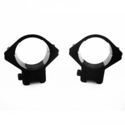 anneaux bas pour lunettes rail 11mm carabine à plombs