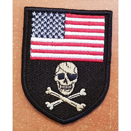 patch pirate flag us