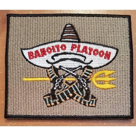 patch velcro banoito platoon bandito seal team6