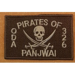 patch velcro pirates of panjwai oda 326 tan