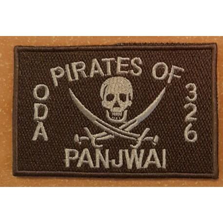 patch velcro pirates of panjwai oda 326 tan