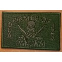 patch velcro pirates of panjwai oda 326 od