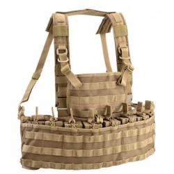 gilet defcon5 gamme outac molle recon chest rig tan