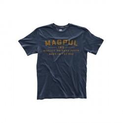 tee shirt magpul bleu ecriture jaune go bang