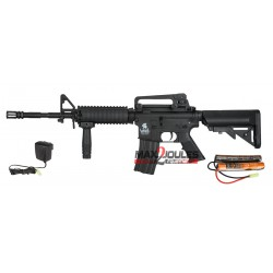 pack AEG LT-04 m4 ris lancer tactical + batterie 9.6v + chargeur regulé