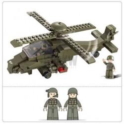 helicoptere HIND 199 pieces à assembler