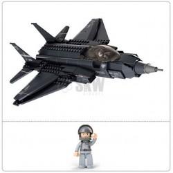 avion de chasse F-35 252 pieces à assembler