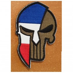 patch velcro punisher casque spartan france