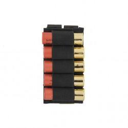 poche pour 5 cartouches pompe noir 8fields