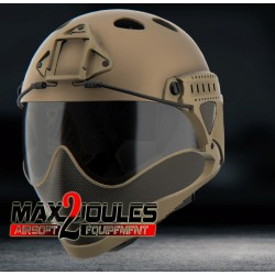 casque anti buee warq tan en kit