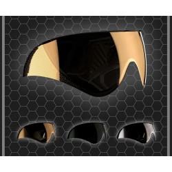 verre de remplacement pour casque warq orange