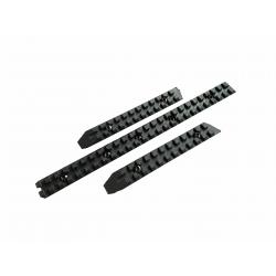 lot 3 rails garde main pour scorpion EVO long elements france