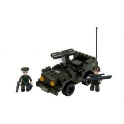 jeep de combat 102 pieces bloques à assembler