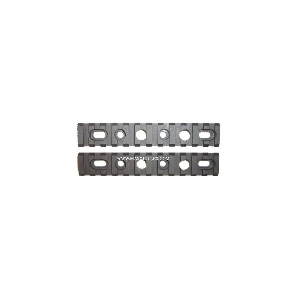 Lot rail picatinny pour gardemain M4 605212