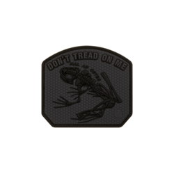 patch pvc don t tread on me frog grenouille