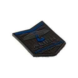 patch pvc alien invasion tactical unit bleu