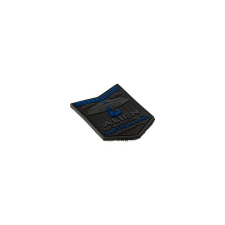 patch pvc alien invasion tactical unit bleu