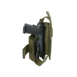holster universel multicam reglable pa+lampe 8fields