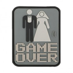 patch pvc game over mariage