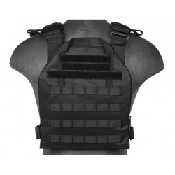 gilet leger plate carrier noir 1000d lancer tactical a68609