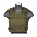 gilet leger plate carrier OD 1000D lancer tactical a68610
