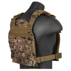 gilet leger plate carrier multicam 1000D lancer tactical a68612