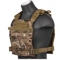 gilet leger plate carrier multicam 1000D lancer tactical a68612