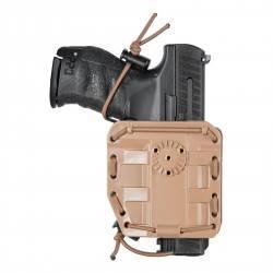 holster universel ambidextre bungy 8bl00 TAN vega holster compatible mk23