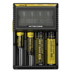 chargeur de batterie intelligent nitecore D4 4 emplacements