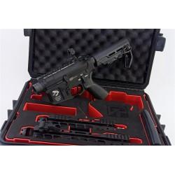 pack M4 AEG tranformer g&p changement rapide garde main + mallette + 2 gardes mains
